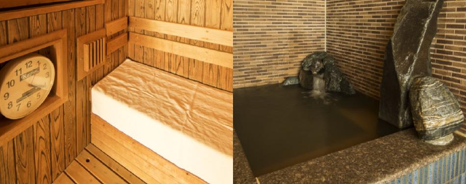 高温サウナ・水風呂