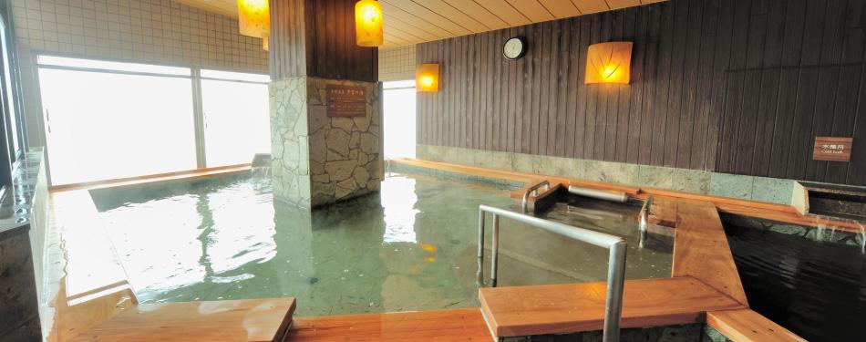 天然温泉「多宝の湯」 10F 男性専用 / 2F 女性専用