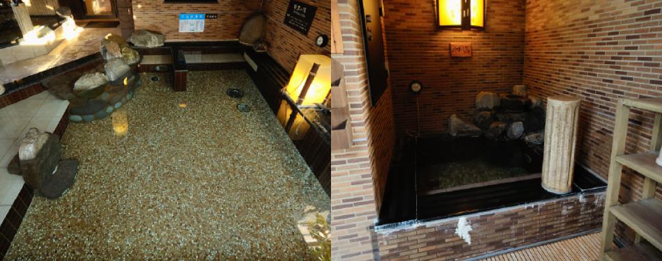 電気風呂(男性浴場のみ)&水風呂