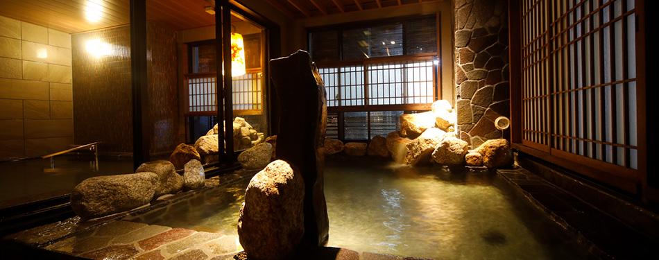 男女別天然温泉大浴場「夕霧の湯」(2F)