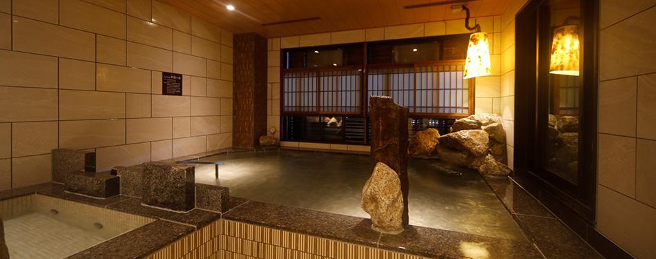 内風呂(天然温泉)